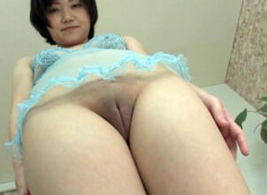 Shaved pussy asian