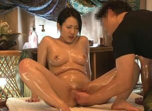 Nude oriental massage