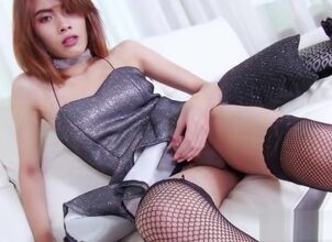 Cute asian ladyboy
