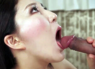 Asian slow blowjob